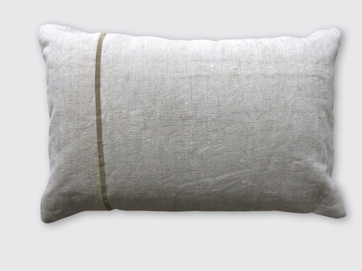 achterzijde: handgeweven linnen/hennep aardappelzak ±1900 Frankrijk