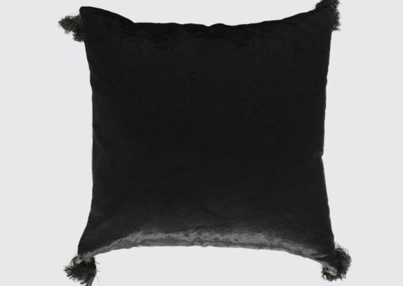 40x40cm voorzijde: vintage fluweel geweven op een smal weefgetouw en gebruikt voor het bekleden van de 'hoge zije' ± 1900.